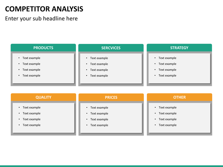 Competitor Analysis PowerPoint Template | SketchBubble