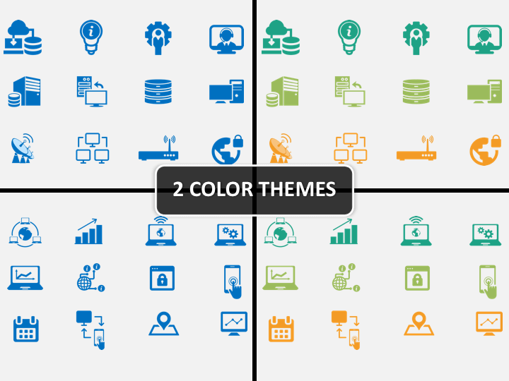 cloud diagram icons powerpoint network diagram icons