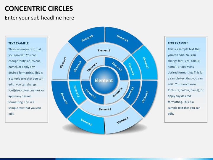 Concentric Circles PowerPoint   SketchBubble