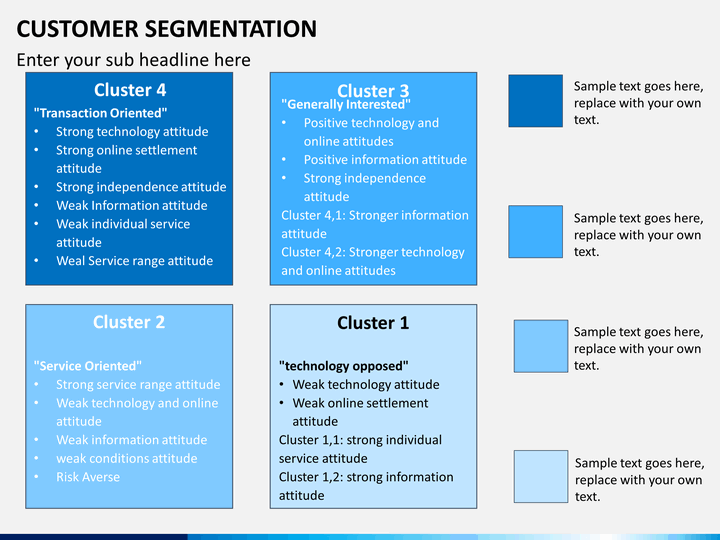 Customer Segmentation Powerpoint Template Sketchbubble