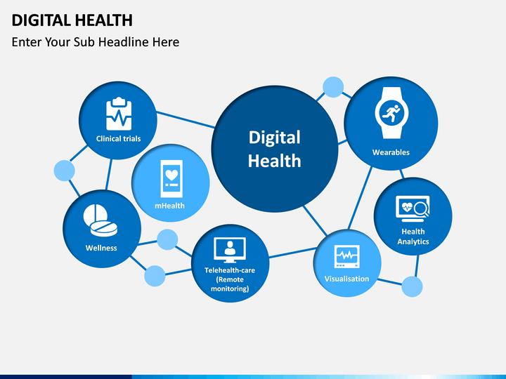 digital health and wellness powerpoint template
