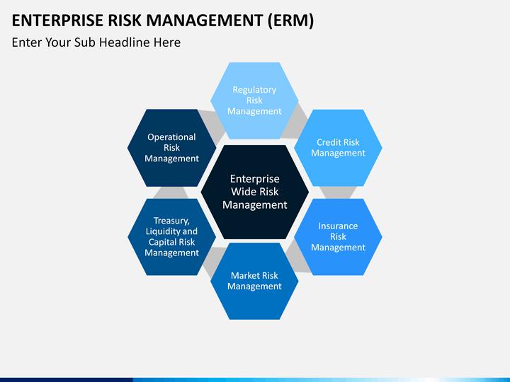 process flow diagram ppt template enterprise risk management  erm  powerpoint    template     enterprise risk management  erm  powerpoint    template