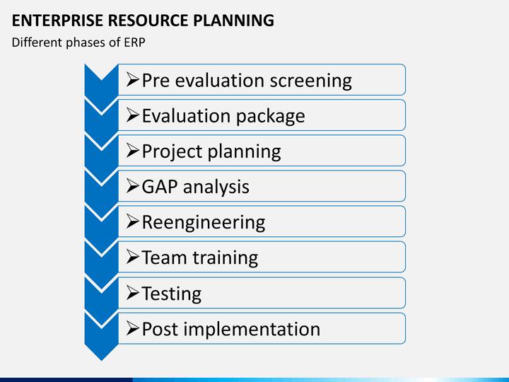 erp project plan template - enterprise resource planning erp powerpoint template