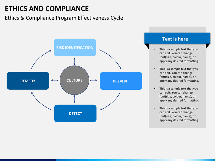 ethics and compliance powerpoint template
