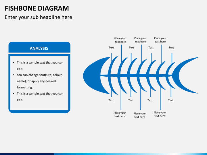 fishbone diagram powerpoint template   sketchbubble    fishbone diagram ppt slide