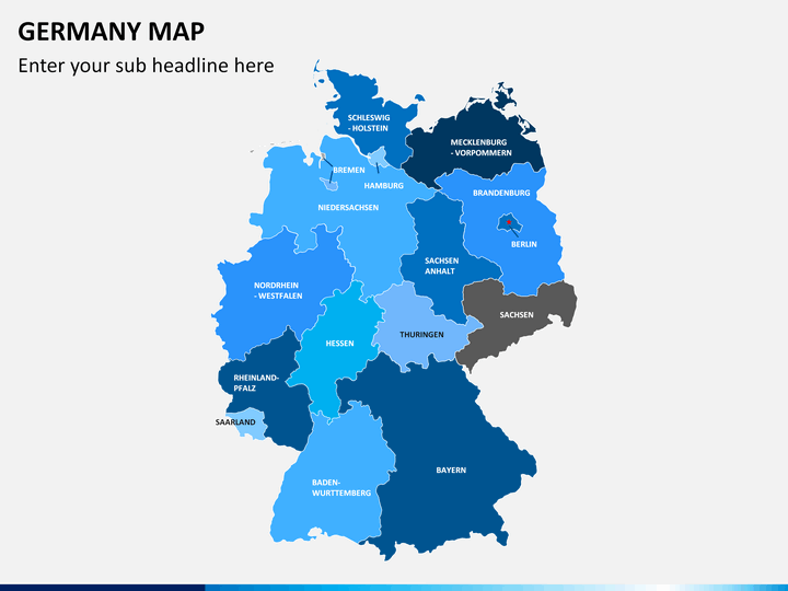 PowerPoint Germany Map | SketchBubble