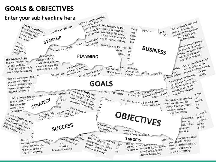 goals and objectives powerpoint template
