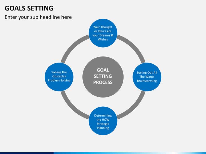 Goals Setting PowerPoint Template   SketchBubble