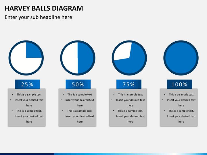 Creative Harvey Balls for PowerPoint Slide1 ...