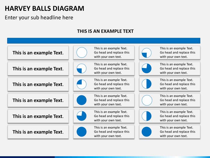 Harvey Balls Powerpoint Template Sketchbubble