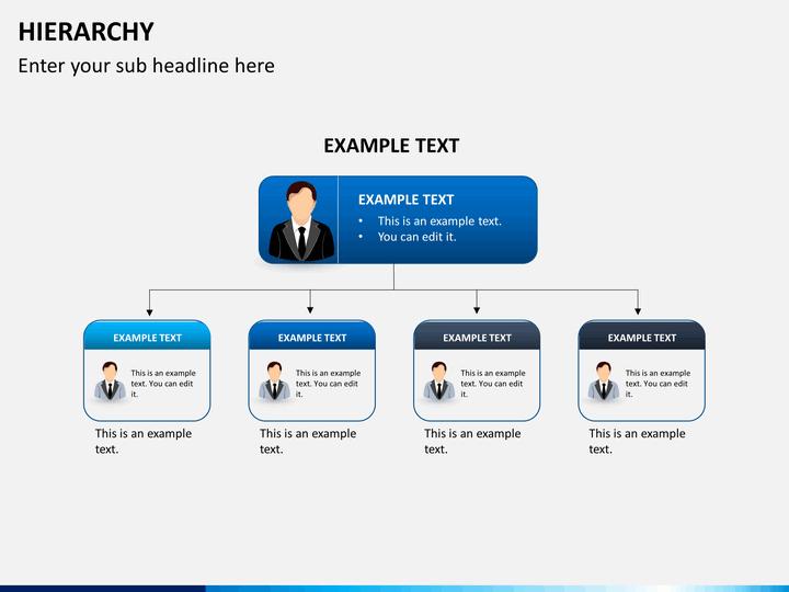 Hierarchy Diagram PowerPoint | SketchBubble