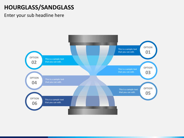 Hourglass/sandglass PPT slide 1