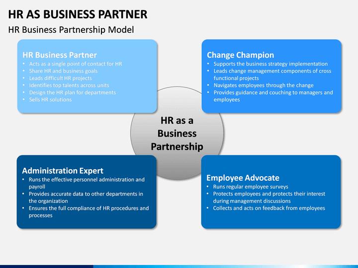 hr as business partner powerpoint template