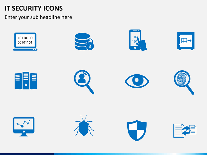 It Security Icons Powerpoint