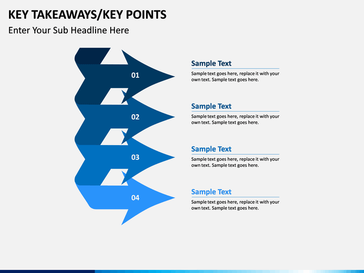 key takeaways powerpoint template