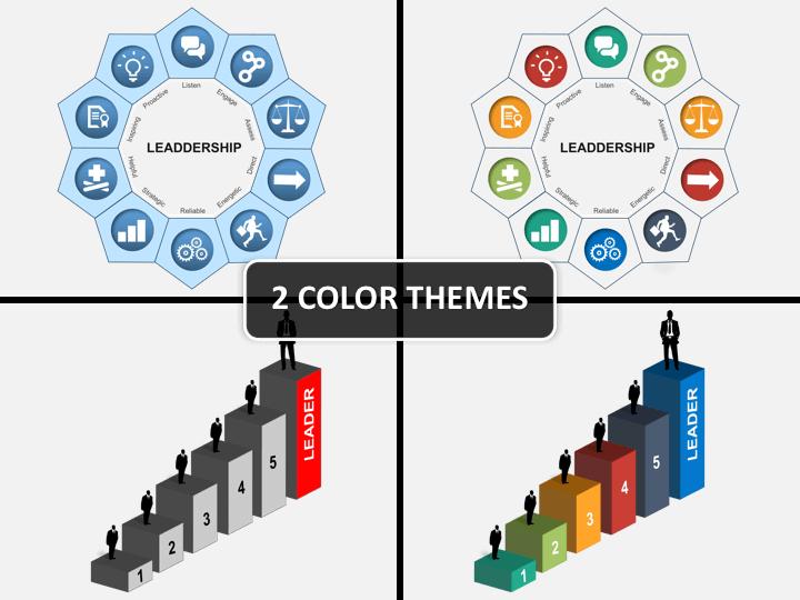 Leadership PPT cover slide