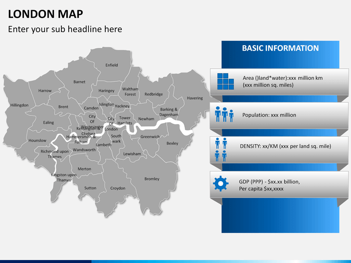 Basic Map Of London.London Map