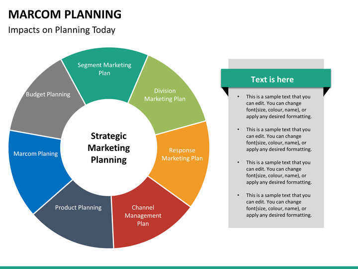 Marcom Planning PowerPoint Template SketchBubble