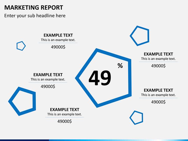 marketing report example
