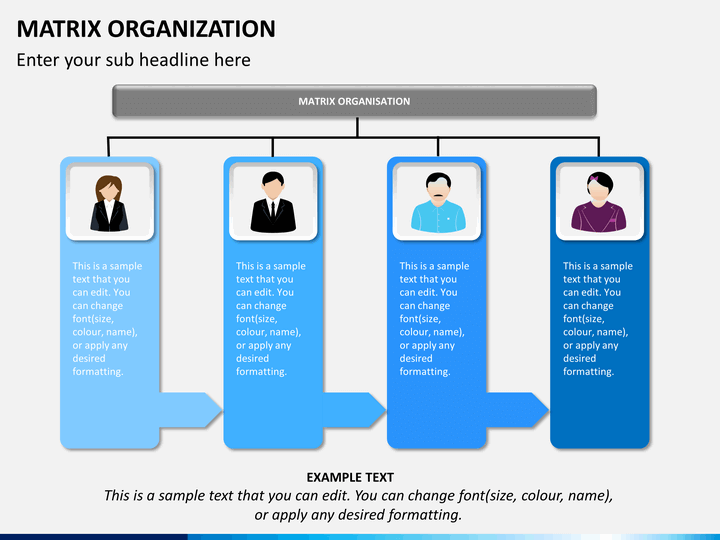matrix organization powerpoint