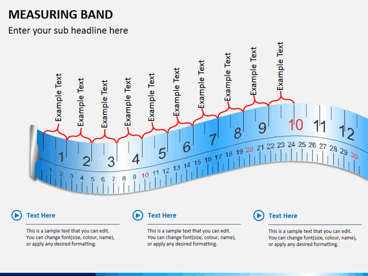 Measuring band PPT slide 1