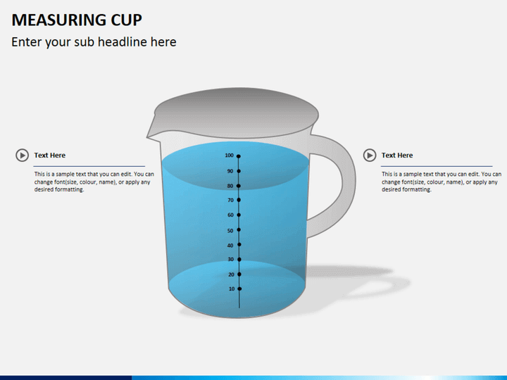 Measuring cup PPT slide 2