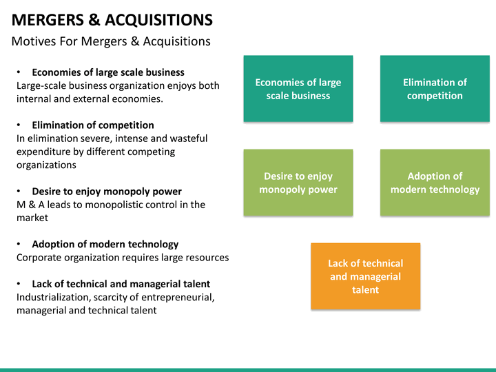 mergers and acquisitions powerpoint template