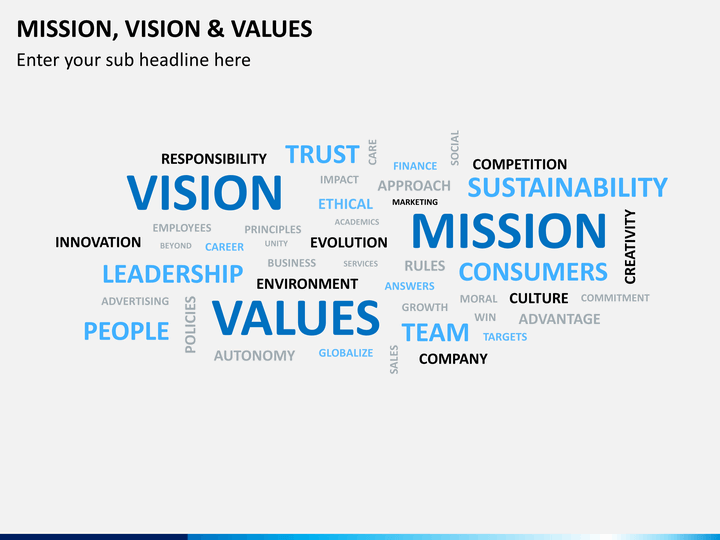 mission vision values and principles of