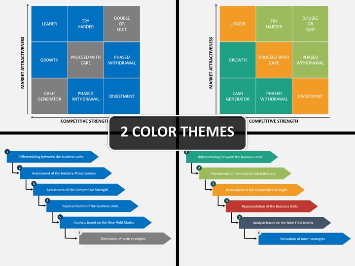 Nine field matrix PPT cover slide