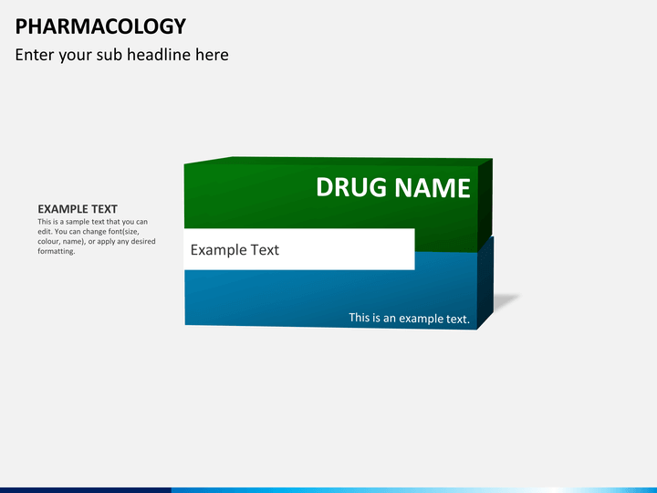 pharmacology powerpoint template sketchbubble