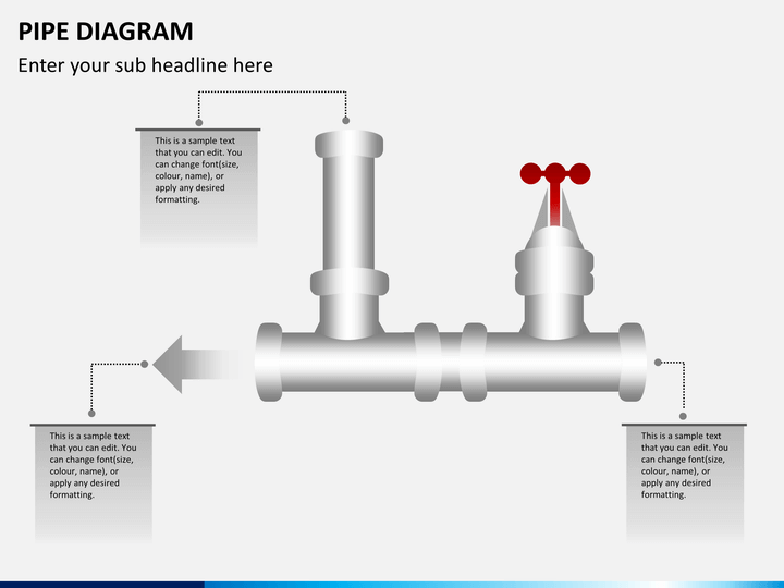 Pipe diagrams PPT slide 1