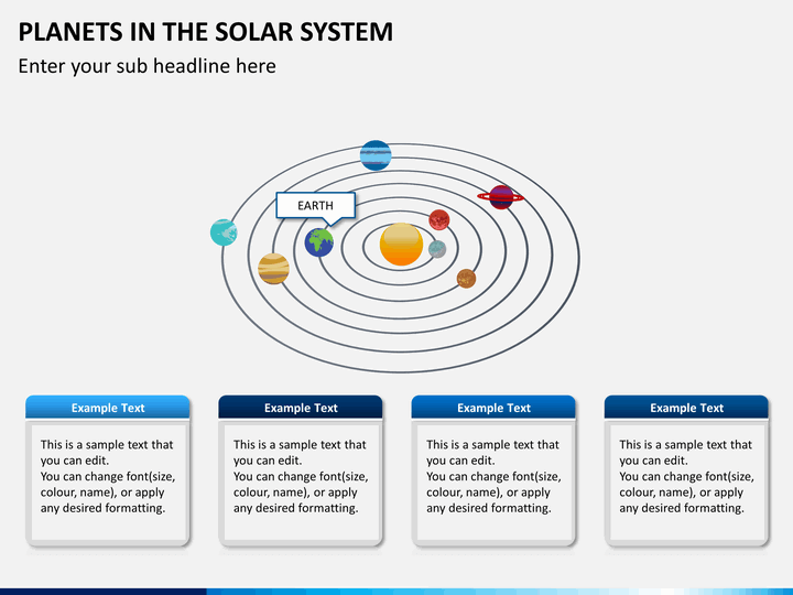 Planets in Solar System PowerPoint Template | SketchBubble