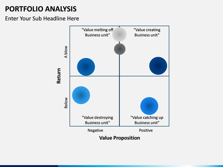 portfolio analysis powerpoint template