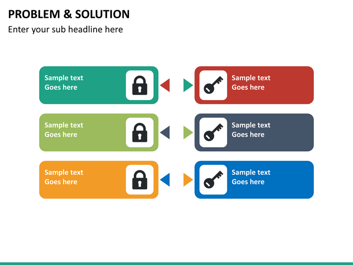 Problem And Solution Powerpoint Template Sketchbubble