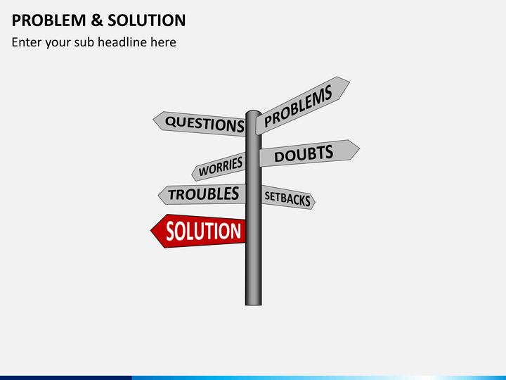 problem and solution powerpoint template