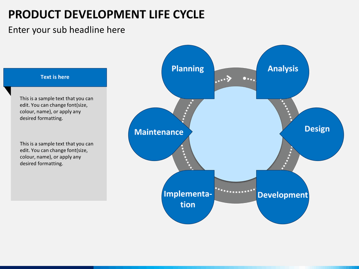 Product development life cycle powerpoint sketchbubble for Product design development