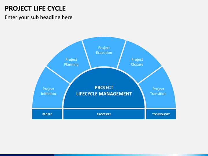 project life cycle powerpoint template