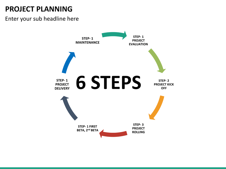 Project Planning PowerPoint Template | SketchBubble