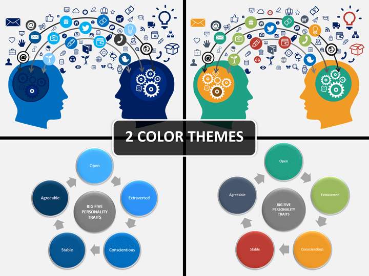 Psychology Powerpoint Template Sketchbubble