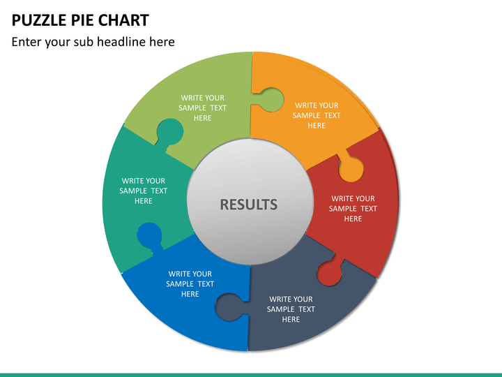 Powerpoint Puzzle Pie Chart