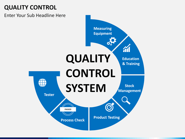 Quality control powerpoint template sketchbubble quality control ppt cover slide quality control ppt slide 1 ccuart Image collections