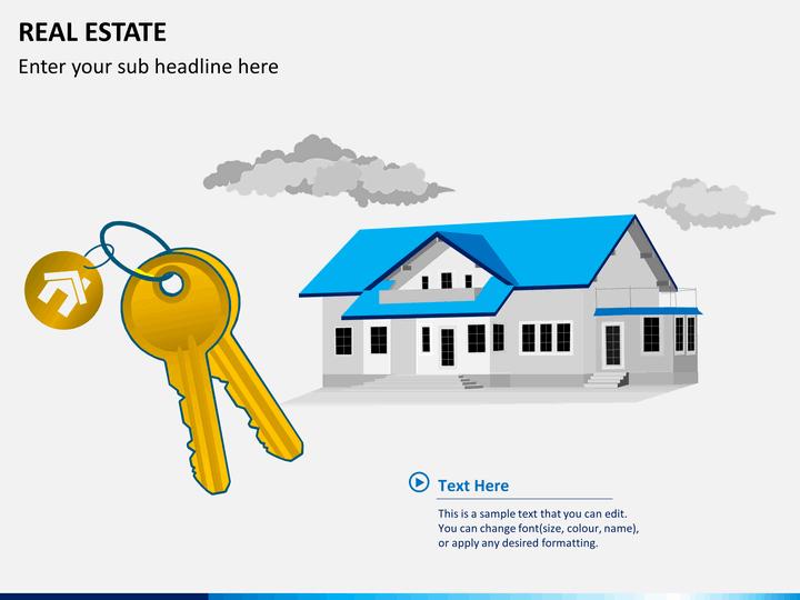 Real estate PPT slide 1