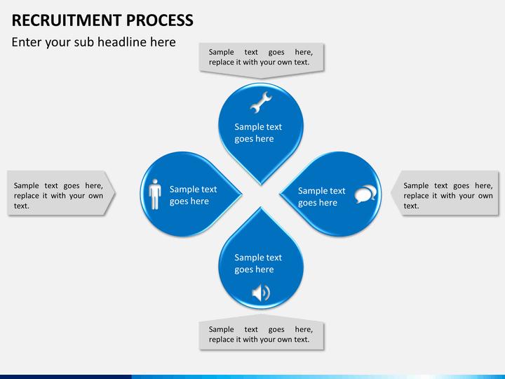 recruitment process powerpoint template
