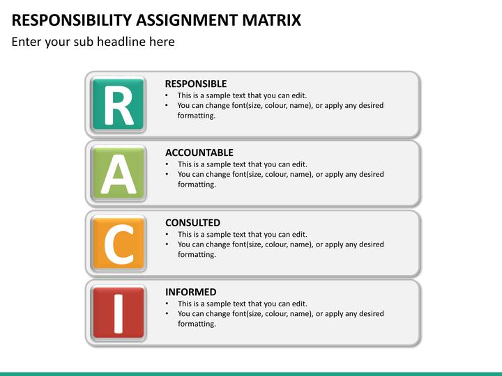 responsibility assignment matrix definition
