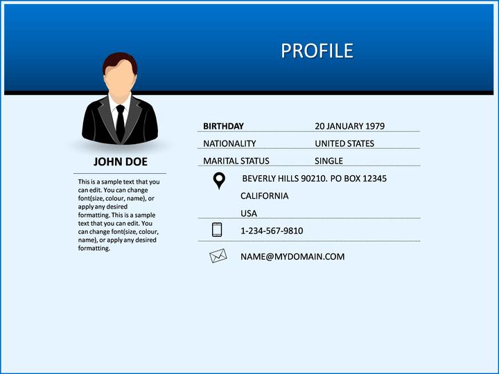 ... Resume PPT Slide 7 ...  E Resume