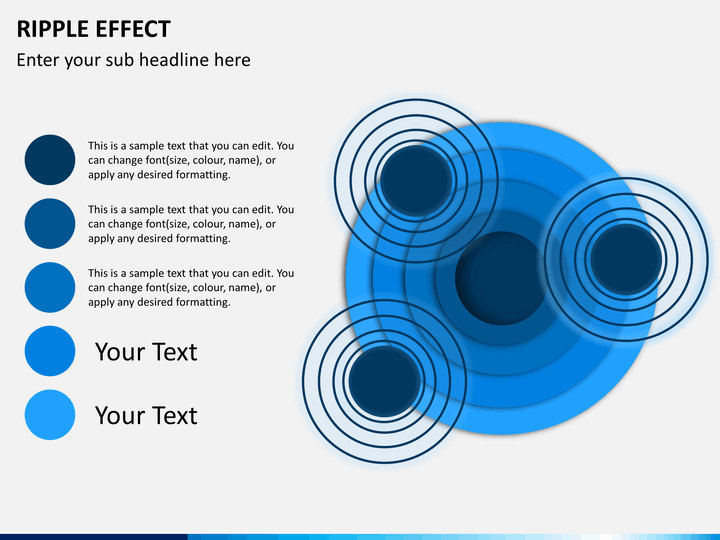 PowerPoint    Ripple Effect    Diagram      SketchBubble