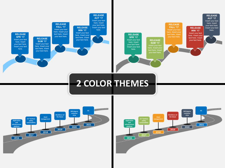 Roadmap Powerpoint Template | Roadmap Powerpoint Template Sketchbubble