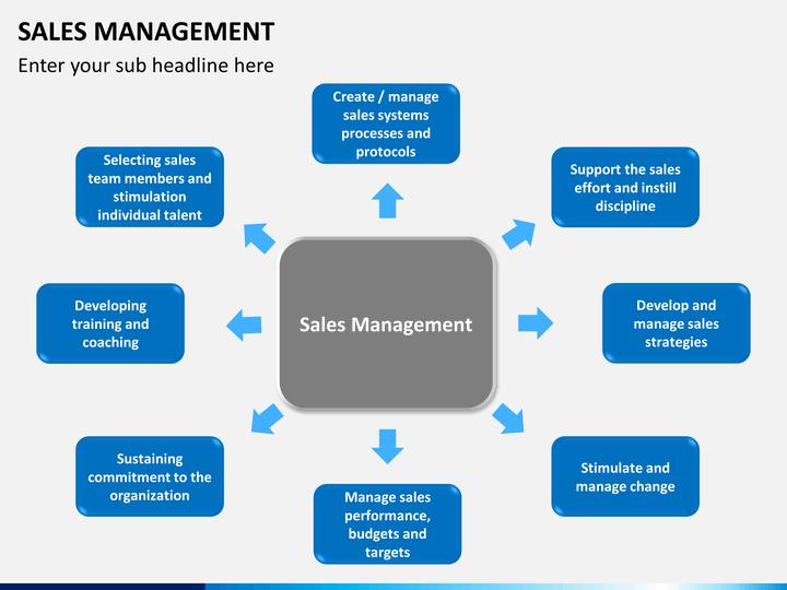 Sales Management PowerPoint Template | SketchBubble