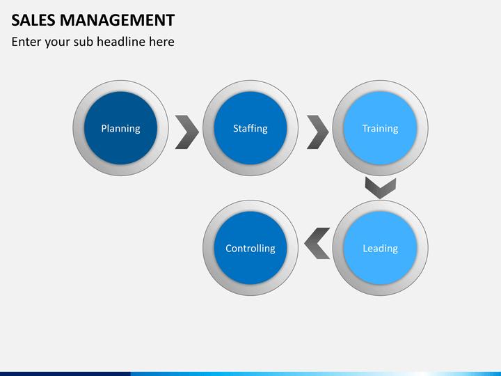 sales management powerpoint template sketchbubble