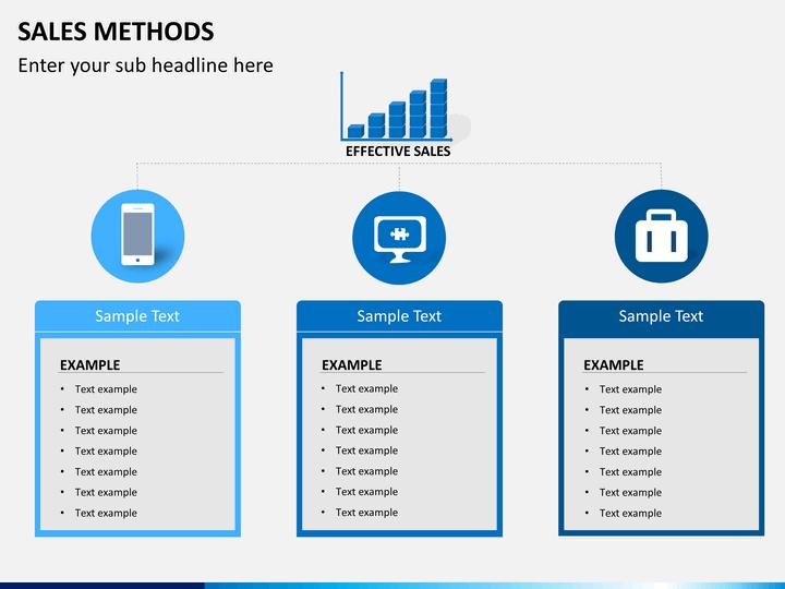 Sales Methods PowerPoint Template| SketchBubble